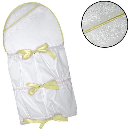 Babyrenka klasická stahovací zavinovačka Dekor yellow KZDY260