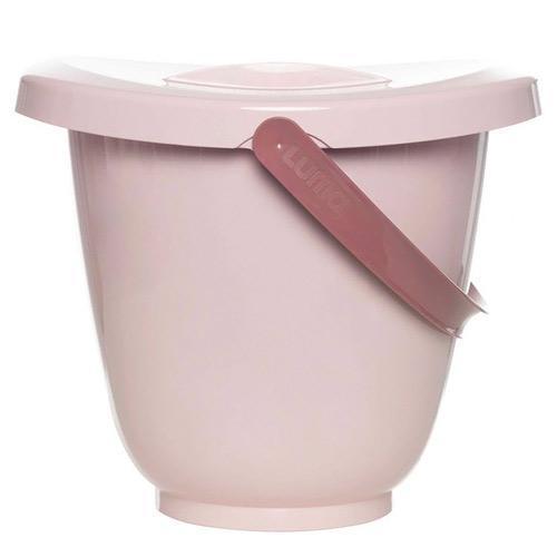 Luma kyblík na pleny s víkem Blossom Pink L16230