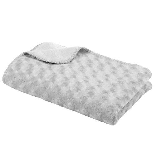 Baby Dan dětská deka Double fleece šedá 6354-20