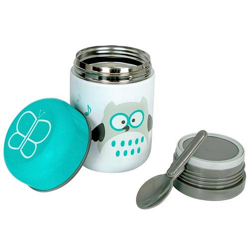 BBLÜV Foöd termoska na jídlo 300 ml se lžičkou Aqua 39472AQ