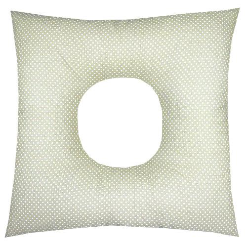 Babyrenka poporodní polštář 45x45 cm kuličky EPS Dots eucalypt PP105DE
