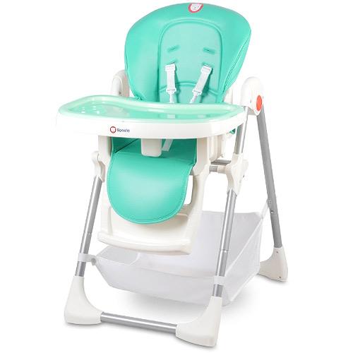 Lionelo jídelní židlička Linn Plus Turqoise 105588