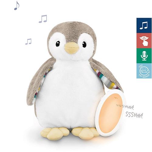 Zazu šumící zvířátko se zvukovým modulem a nočním světlem tučňák Phoebe 0+ ZA-PHOEBE-01