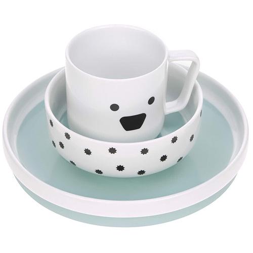 Lässig porcelánový jídelní set 3 díly Little Chums Dog