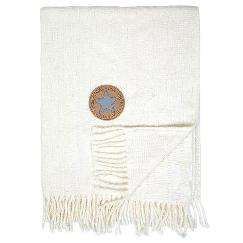 Little Angel deka pléd třásně 70x100 cm natur