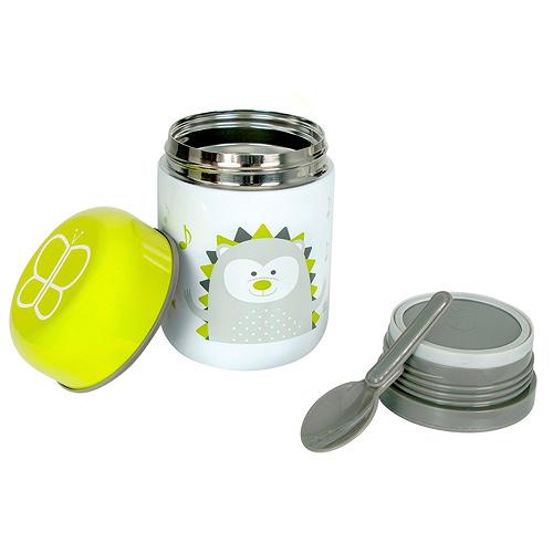 BBLÜV Foöd termoska na jídlo 300 ml se lžičkou Lime 39472LI