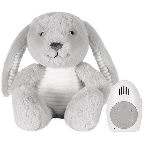 Flow šumící zvířátko s tlukotem srdce Milo the Bunny Grey 39098