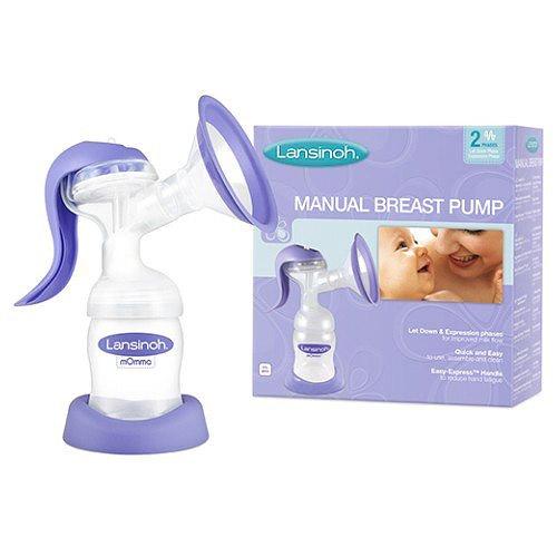 Lansinoh dvoufázová manuální odsávačka mléka 990003