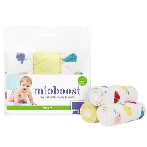 Bambino Mio absorbční vložka Mioboost 3 ks Cute fruit MB FRU