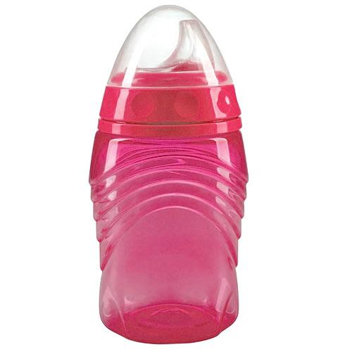 Baby Nova hrnek s neprosakujícím náustkem 290ml 6m+ růžový 34121R