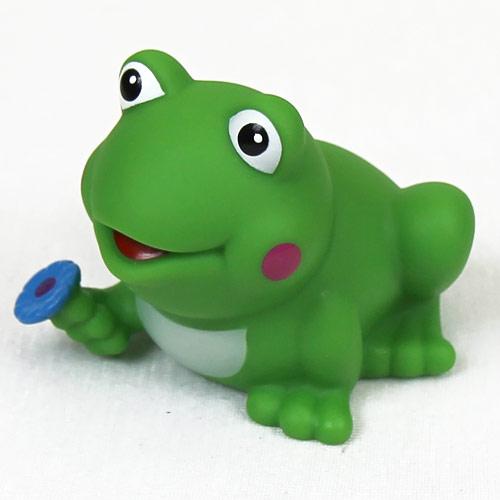 Lena stříkací hračka do vody Žába s kytkou 43065522KY