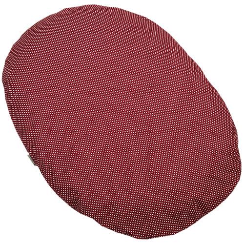 Babyrenka kojenecký relaxační polštář 80x60 cm EPS Dots dark red KRPDDR380