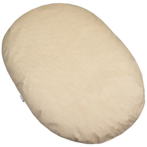Babyrenka kojenecký relaxační polštář 80x60 cm EPS Dots natur KRPDN380
