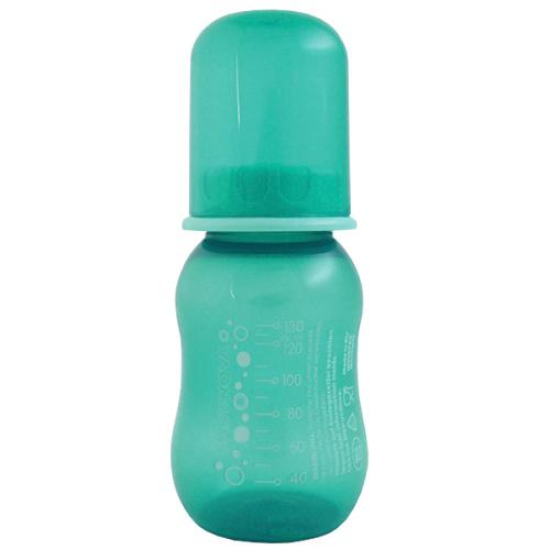 Baby Nova lahev antikoliková 130 ml 0-24 m zelená 40105M