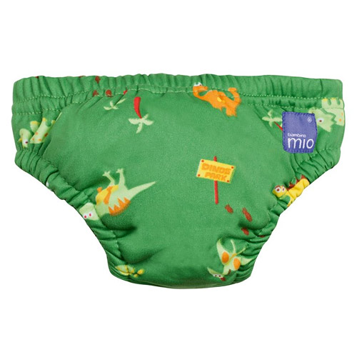 Bambino Mio koupací kalhotky S 5-7kg Green Dino SWPS MER