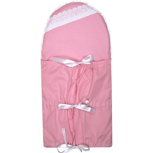 Babyrenka klasická zavinovačka bez kanýru Greta pink KZGRP260