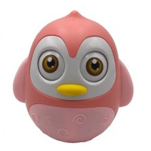 Teddies Roly Poly zvířátko plast 12 cm růžové 850009R