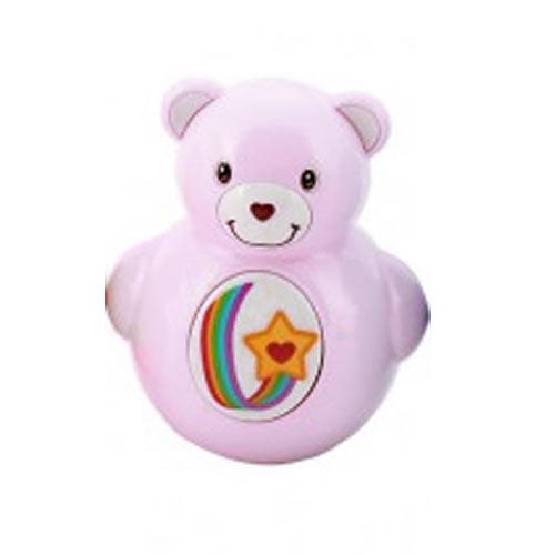 Teddies Roly Poly medvídek plast 10 cm fialový 850182F