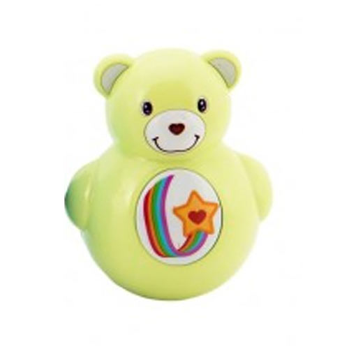 Teddies Roly Poly medvídek plast 10 cm zelený 850182Z