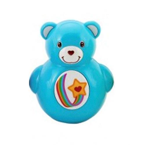 Teddies Roly Poly medvídek plast 10 cm modrý 850182M