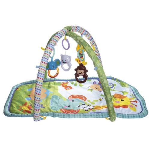Teddies hrací deka s hrazdou Zvířátka 850148