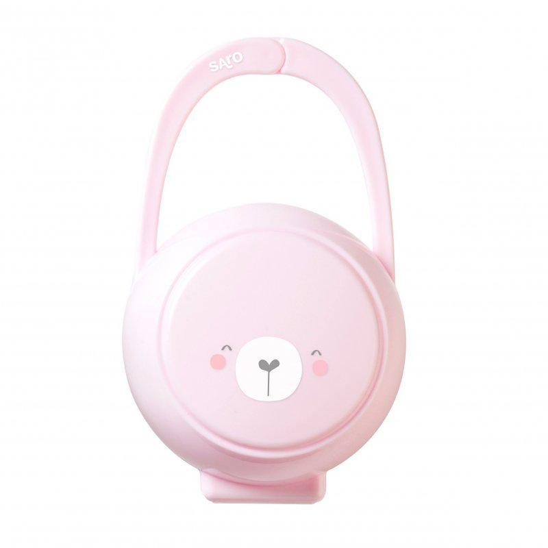 Saro pouzdro na dudlík Pink CB148080