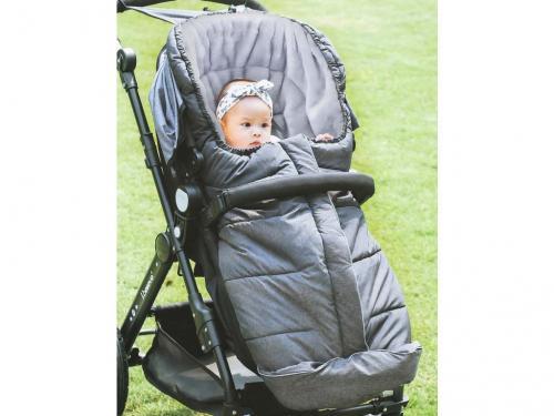 Baby Dan fusak univerzální šedý BD9014