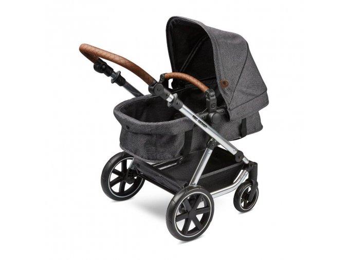 puppenwagen doll cariage migno asphalt 01 babywanne