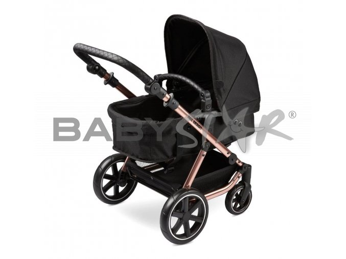 puppenwagen doll cariage migno rose gold 01 babywanne