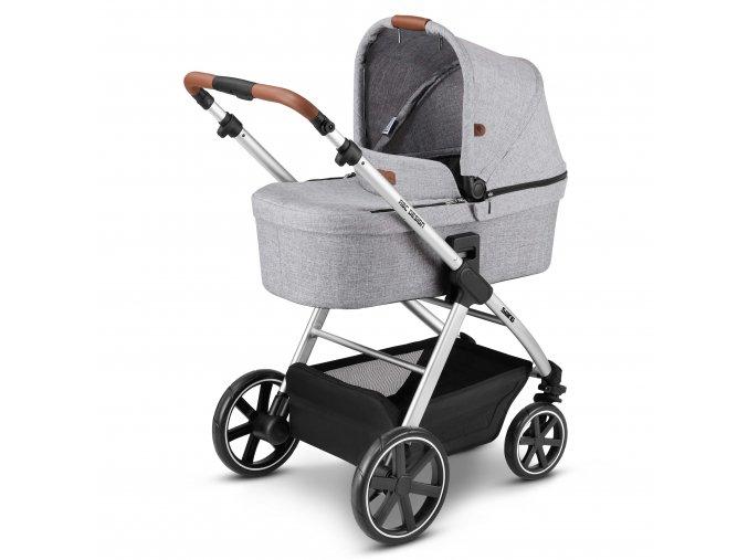 kinderwagen stroller swing graphite grey 01
