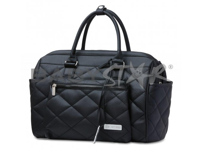 wickeltasche changing bag style black 01
