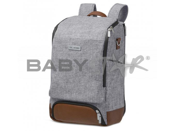wickelrucksack changing backpack tour graphite grey 01