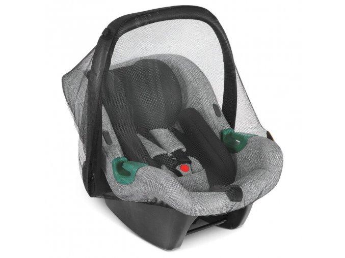moskitonetz mosquito net tulip black 01 babyschale
