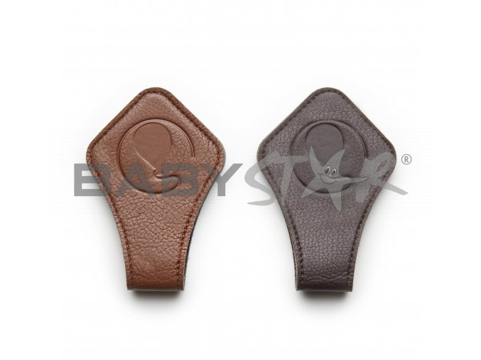 magnet clip magnetclip brown 01 kinderwagen