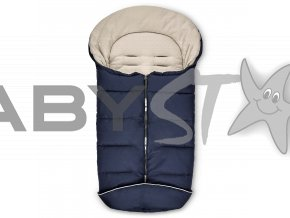 winterfusssack winter footmuff navy 01 kinderwagen