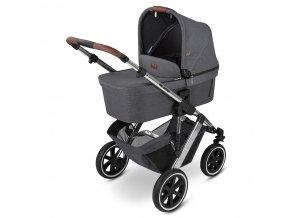 kinderwagen stroller salsa 4 air asphalt 01 babywanne 01