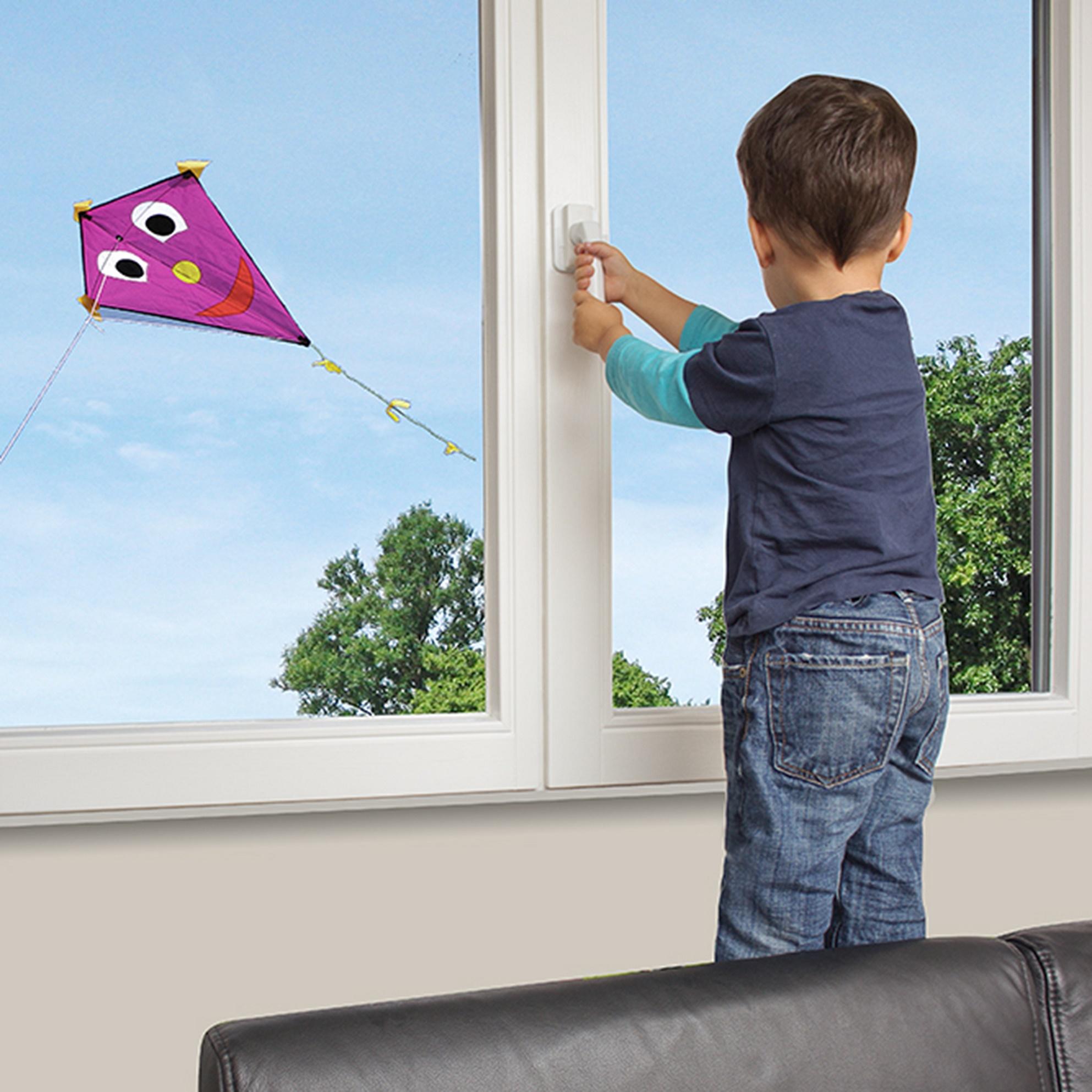 Reer Zámek na okna a balkonové dveře 3ks white