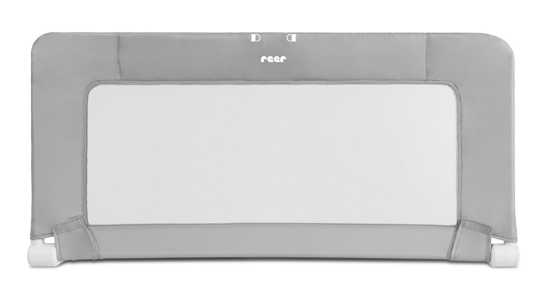 Reer Zábrana na postel 100cm grey/white