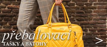 Přebalovací tašky a batohy