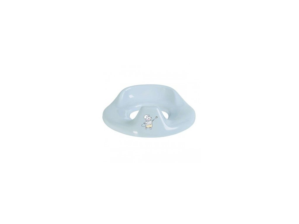 Sedátko na WC Bébé-Jou Little Mice světle modrá