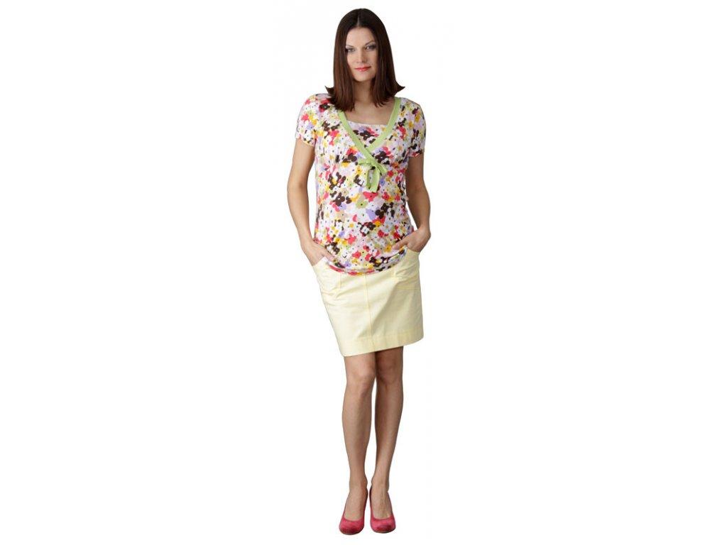 Těhotenská sukně Rialto BILLY žlutá 1934 - Baby Store f4a3c38cb9