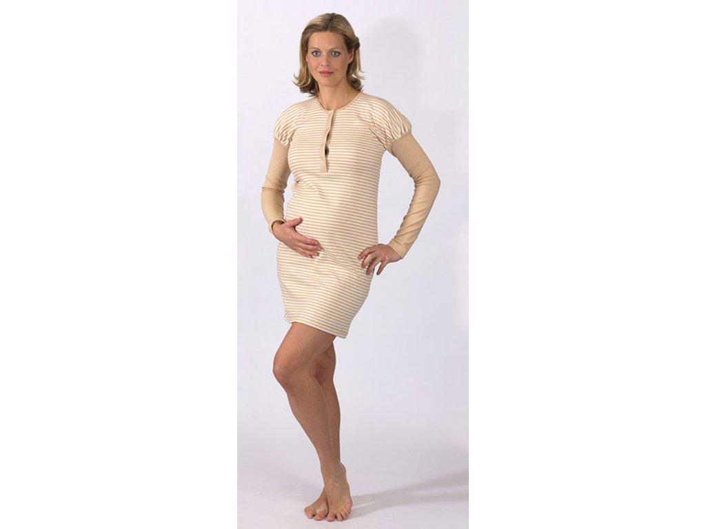 b31a4f6e6a5 Těhotenská noční košile Rialto GISEL biobavlna 0431 - Baby Store
