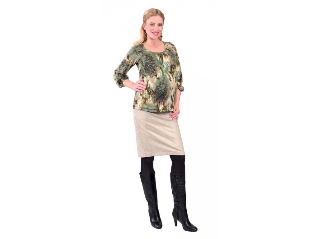 3f6d0c925e9 Těhotenská manžestrová sukně Rialto BEVER zlatá 1920 - Baby Store