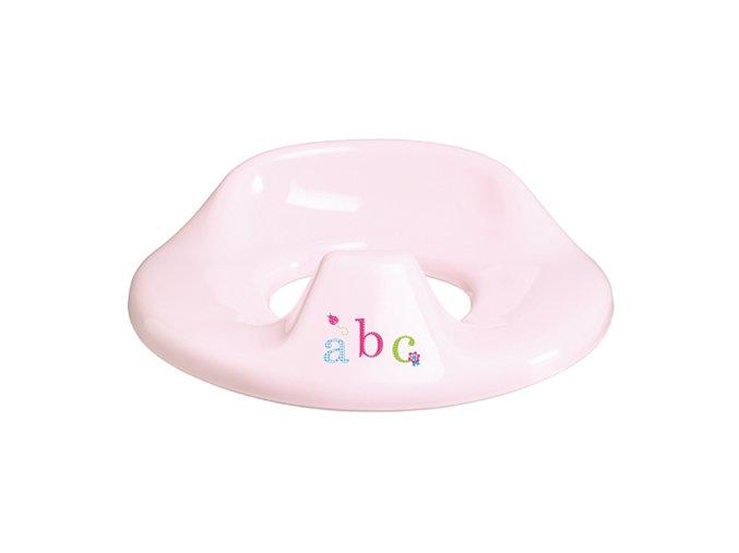 Sedátko na WC Bébé-Jou ABC světle růžová