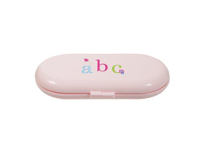 Dětská manikúra Bébé-Jou obsahuje nužky na nehty, pilníček na nehty a kleštičky na nehty