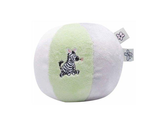 Šustící plyšový balón Bébé-Jou Dinky Zebra