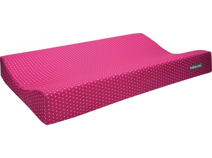 Textilní přebalovací podložka Bébé-Jou ABC světle Růžová