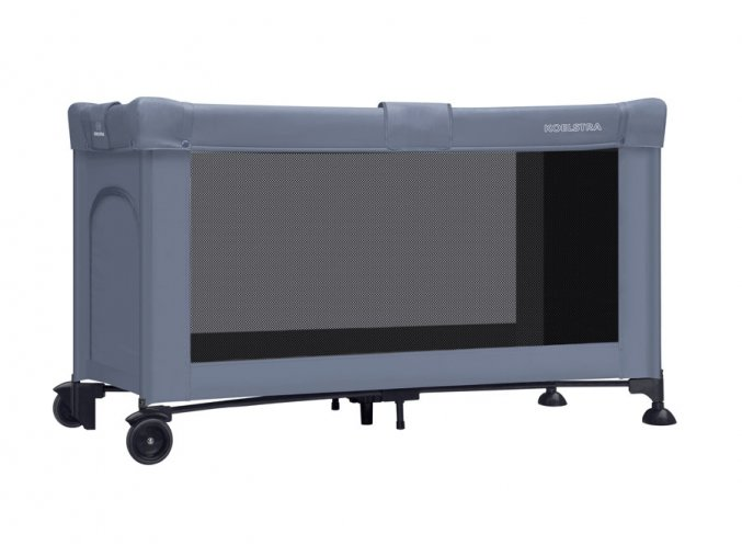 Cestovní skládací postýlka 60x120 cm Koelstra Shade Blue