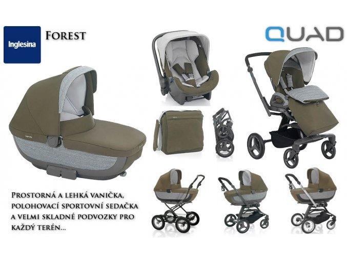 Inglesina SYSTÉM QUAD FOREST 2015