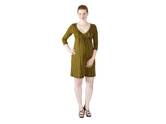 Těhotenské a kojící šaty Rialto Laffaux 0152 (Dámská velikost 36)